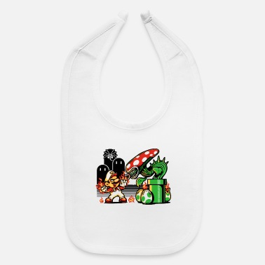 Over Game Over Man Game Over - Baby Bib