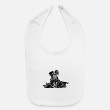 Couples Couple meditation - Baby Bib