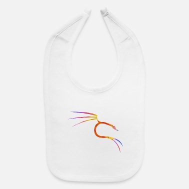 Kali Linux Kali Linux - Abstract Colors - Baby Bib