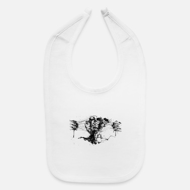 Miscellaneous Abstract Drawing - Baby Bib