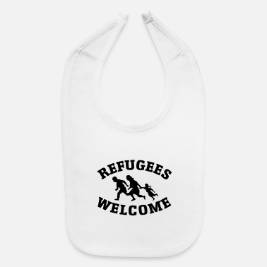 Refugees Welcome Refugees Welcome - Baby Bib