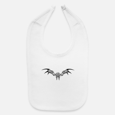 Tribal Tattoo Tribal tattoo - Baby Bib