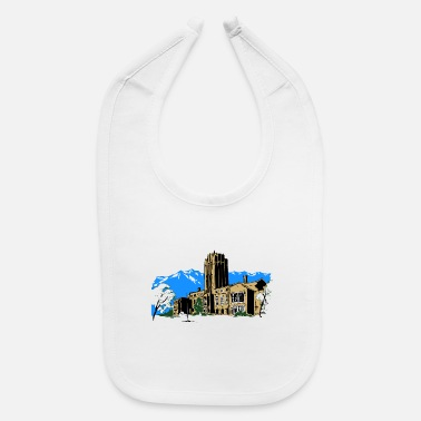 Build buildings - Baby Bib