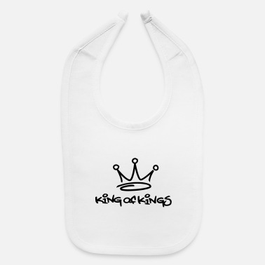 King king of kings - Baby Bib