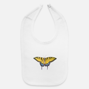 Renner Eastern Tiger Swallowtail - Baby Bib