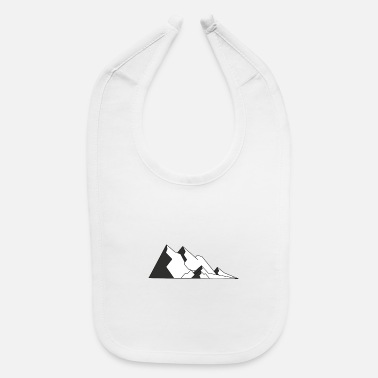 Mountains Mountains - Baby Bib