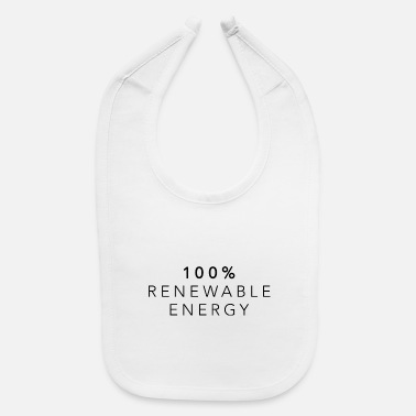 Energy Transition Renewable energies climate energy transition gift - Baby Bib