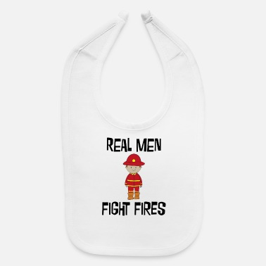 Fire Fire Fighter - Baby Bib