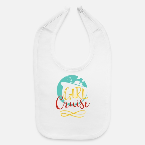 Heat Baby Clothing - Girl Cruise - Baby Bib white