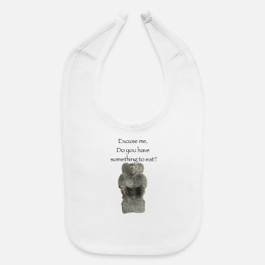 Egypt Egyptian god ape monkey funny quote - Baby Bib