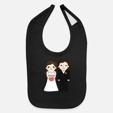Marriage marriage - Baby Bib