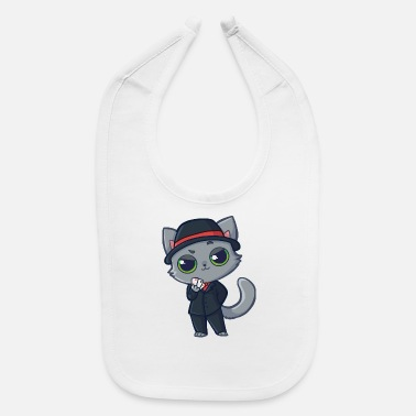 Casino Casino Cat - Baby Bib