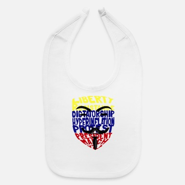 Dictatorship Anonymouse venezuela for Dictatorship - Baby Bib