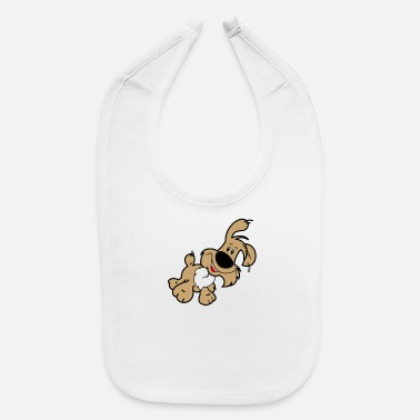Dogs Cartoon Dog - Baby Bib