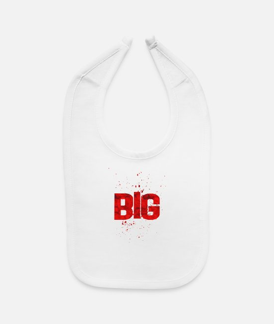Birthday Baby Clothing - big - Baby Bib white