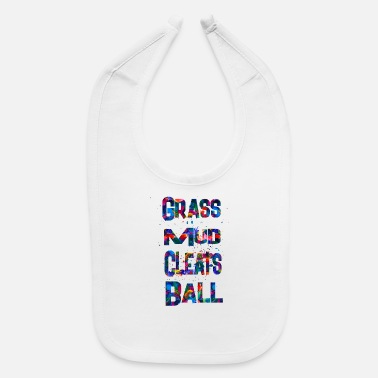 Grass Mud Cleats Ball - Baby Bib