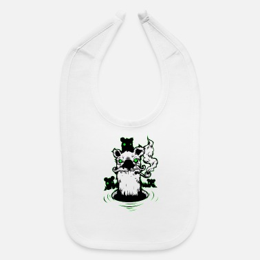 Smoker Abstract smoker - Baby Bib