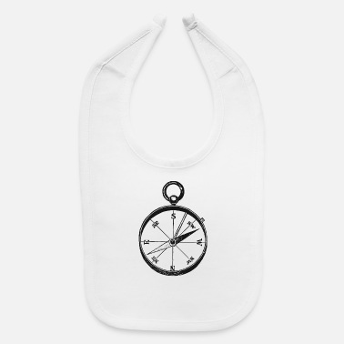 Ancient Ancient Compass - Baby Bib