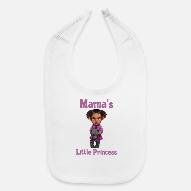 mamas little princess 3 - Baby Bib