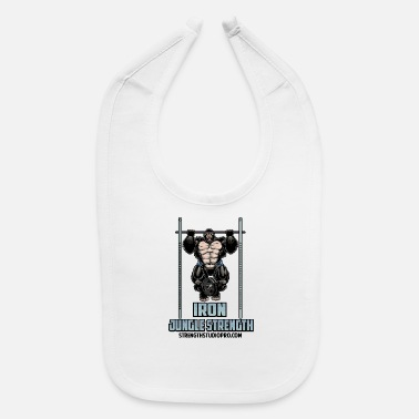 Iron Jungle Strength - Baby Bib