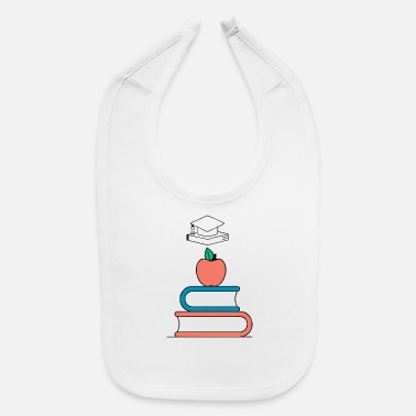Education Culture Linear Education - Baby Bib