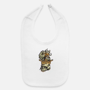 Coat Of Arms Lion Family Coat of Arms - Baby Bib