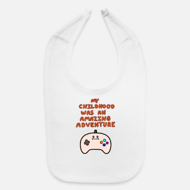 Childhood Adventure - Gaming - Baby Bib