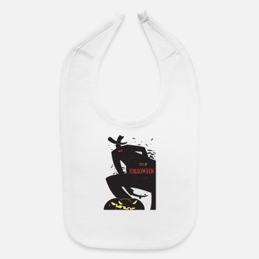 Date Of Birth Save the Date - 31/10 Halloween Date - Baby Bib