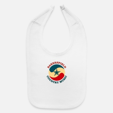 Country bakersfield country - Baby Bib