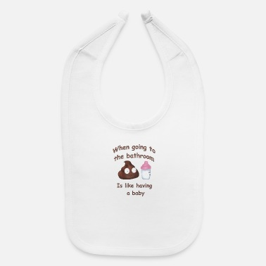 Bathroom Bathroom Babies - Baby Bib