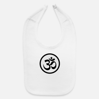 OM symbol (variable colors!) - Baby Bib