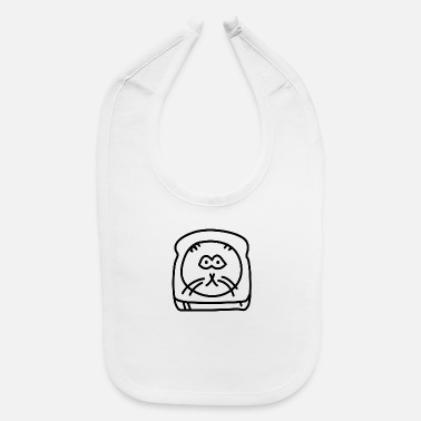 Bread cat - Baby Bib