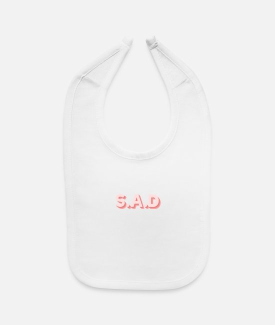 Sole Baby Bibs - Singles Awareness Day Single Forever alone - Baby Bib white