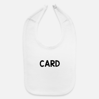 Cards Card only - Baby Bib