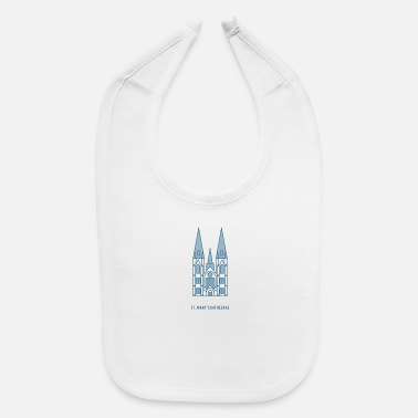 Cathedral Mary s Cathedral - Baby Bib