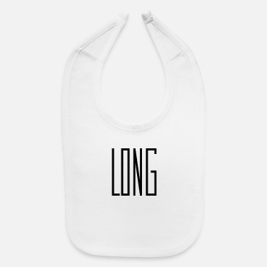 Long long words that are long. - Baby Bib