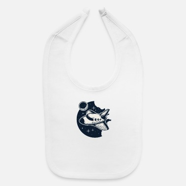 Space Space Ship - Baby Bib
