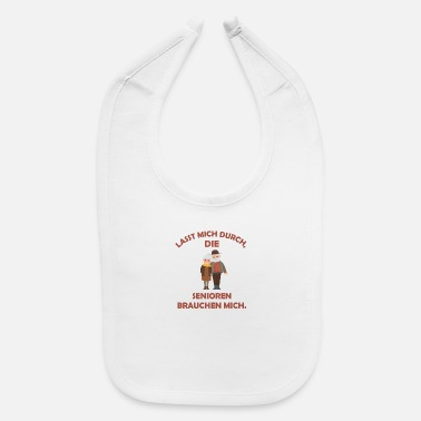 Farewell Seniors need me pension pensioner gift - Baby Bib