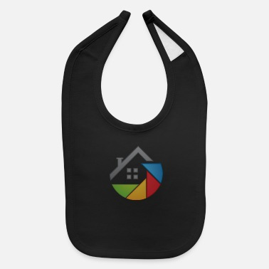 Attractive Outline of a house - Baby Bib
