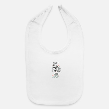 Missile Little Miss Eggs tremely Cute - Baby Bib