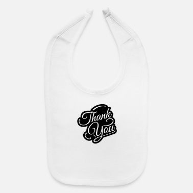 thank_you_zu1 - Baby Bib