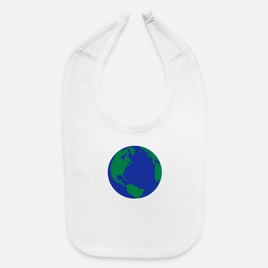 World The World - Baby Bib