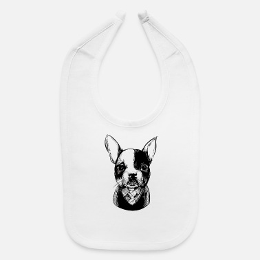 Bulldog French Bulldog - Baby Bib