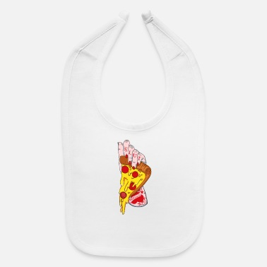 Slut pizza slut - Baby Bib