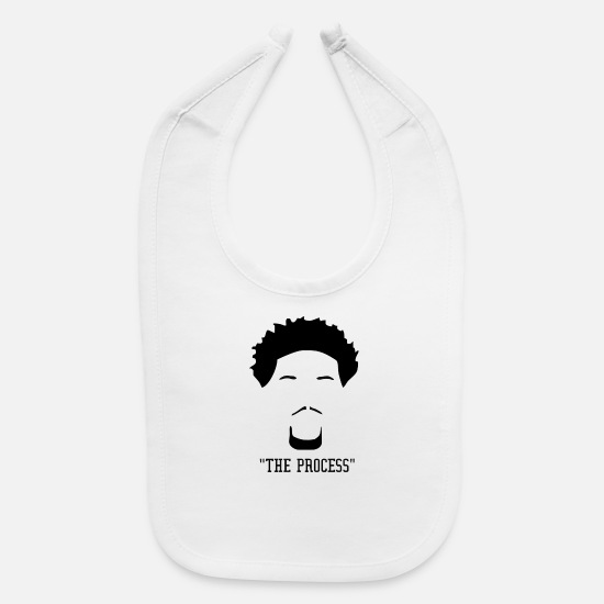 Process Baby Clothing - the process - Baby Bib white
