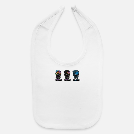 Movie Baby Clothing - Future Culture - Baby Bib white