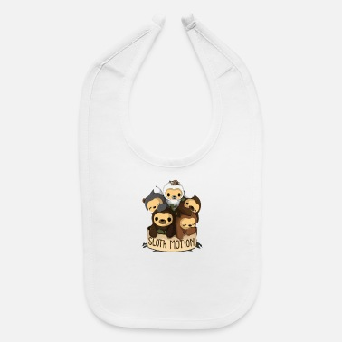 Motion SLOTH MOTION - Baby Bib