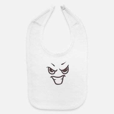 Evil face - Your emotions on your T-shirt - Baby Bib