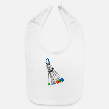 Nut Rock climbing wires - Baby Bib