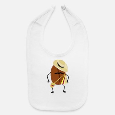Bean coffee bean - Baby Bib